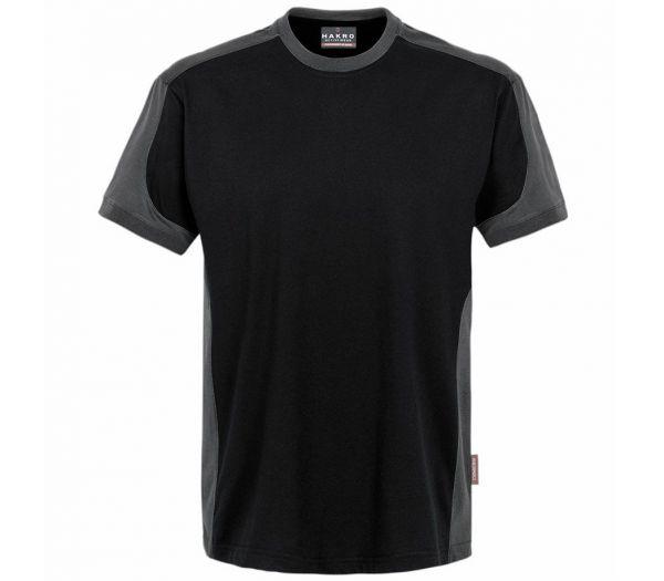 Hakro T-Shirt Performance Contrast schwarz/anthrazit