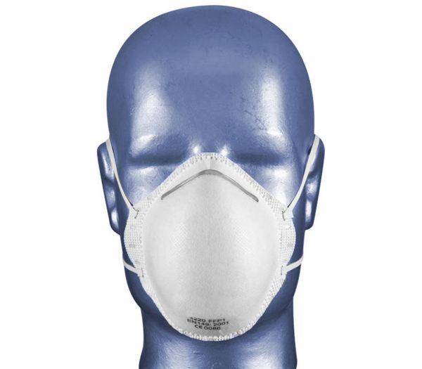 Atemschutzmaske FFP1 weiß