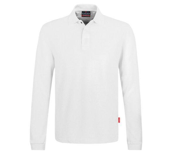 HACCP Longsleeve Poloshirt weiß