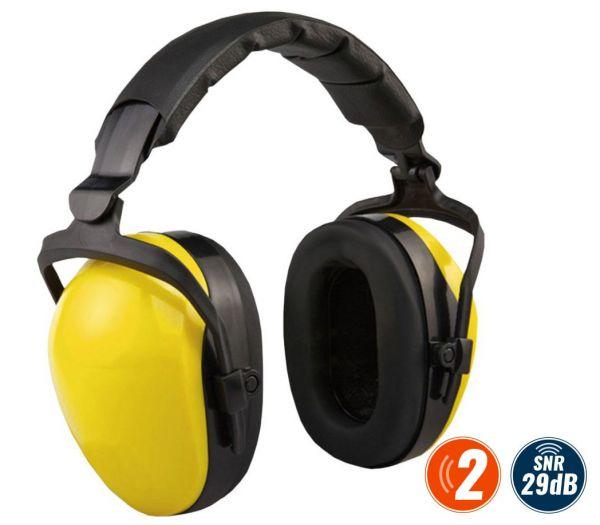 Kapselgehörschutz Classic, faltbar gelb