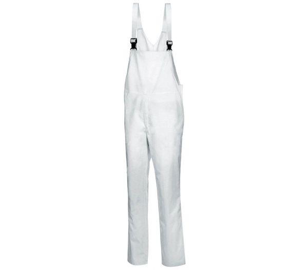HACCP  Latzhose unisex weiß