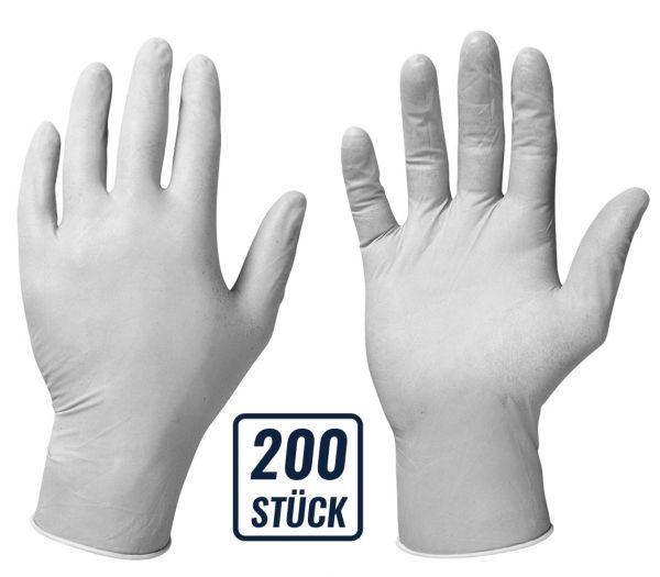 Einmalhandschuhe Nitril 200er Box weiß