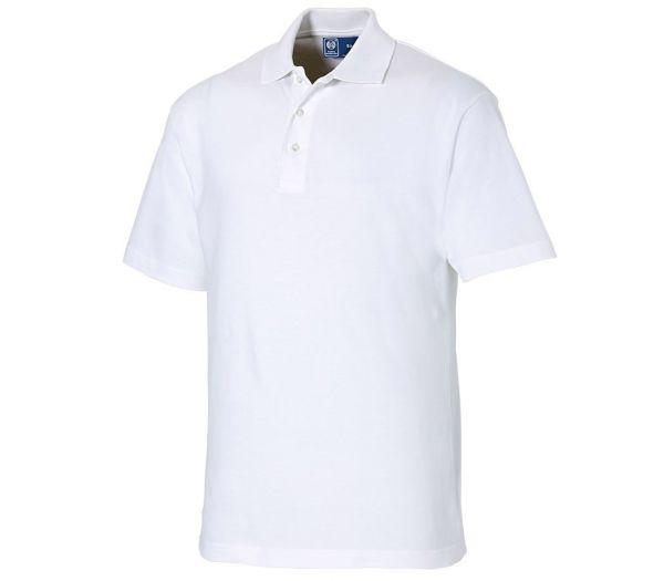 Poloshirt Premium weiß