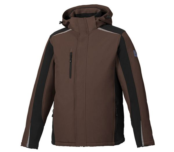 Winter Softshelljacke BS ONE braun/schwarz