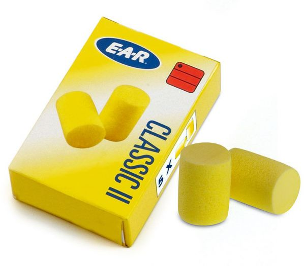 Gehörschutzstöpsel Classic gelb