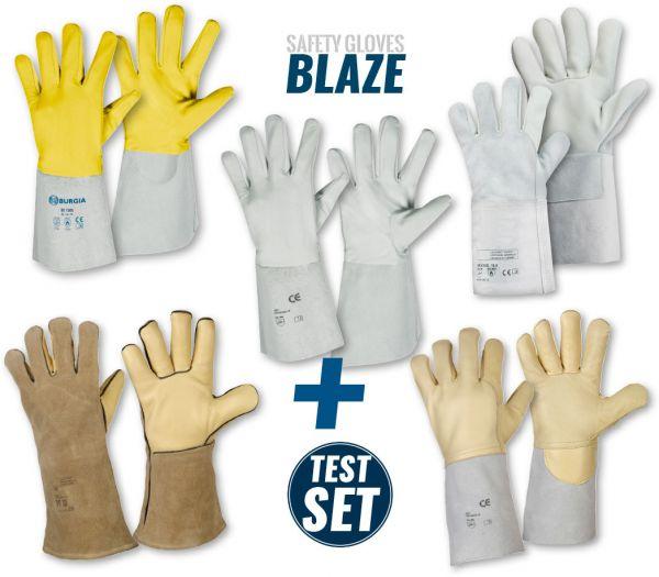 """Handschuh TEST-SET """"Schweißerschutz"""" Diverse"""
