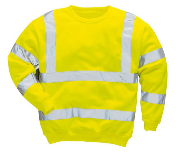 Warnschutz-Sweatshirt Image warngelb