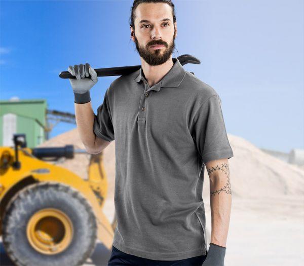 Poloshirt Premium anthrazit
