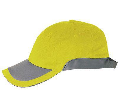 Warnschutz-Cap warngelb