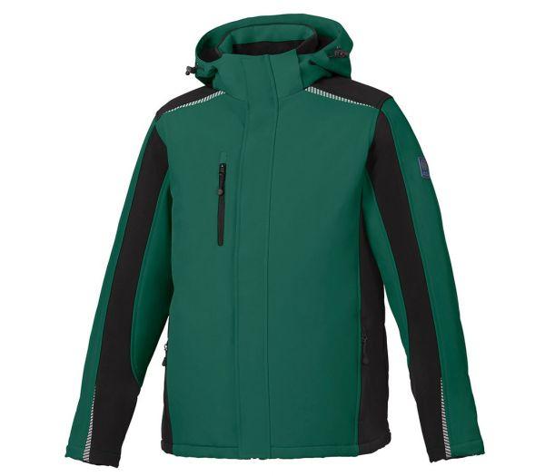 Winter Softshelljacke BS ONE grün/schwarz