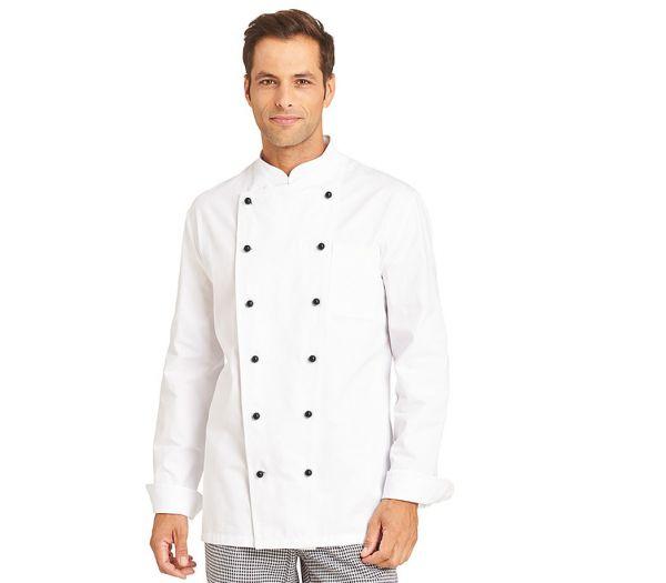 Kochjacke Baumwolle weiß