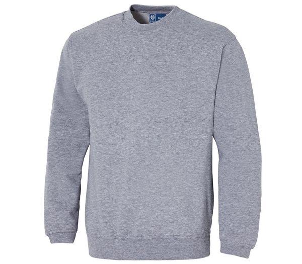 Sweatshirt Premium grau meliert