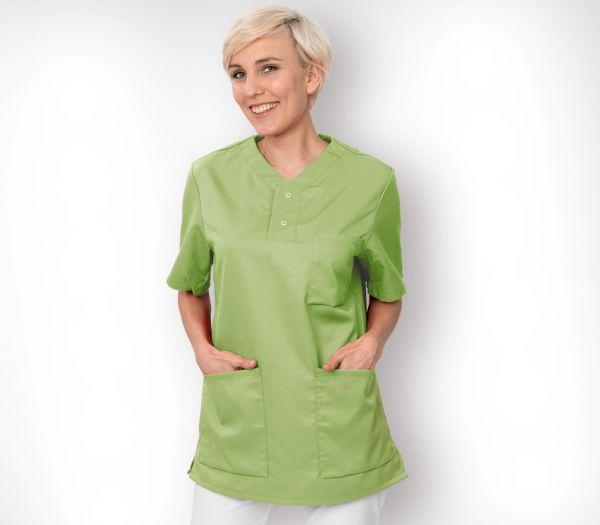 Schlupfkasack für Sie & Ihn Mischgewebe hellgrün