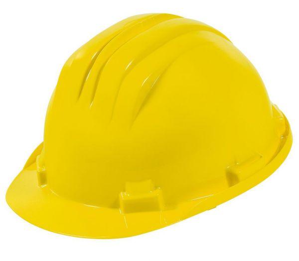 Schutzhelm 6-Punkt gelb