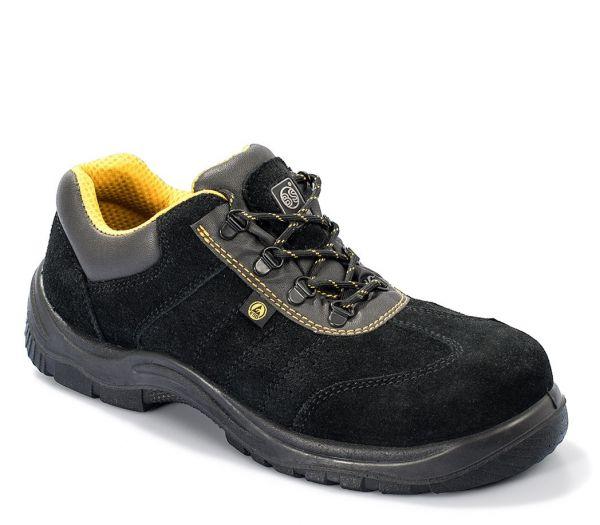 Sicherheitshalbschuhe S1P ESD schwarz/gelb