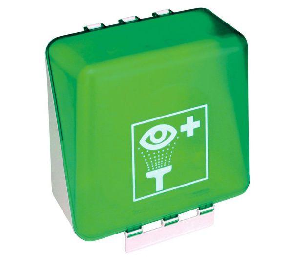 SecuBox - Aufbewahrung für Augenspülung hellgrün