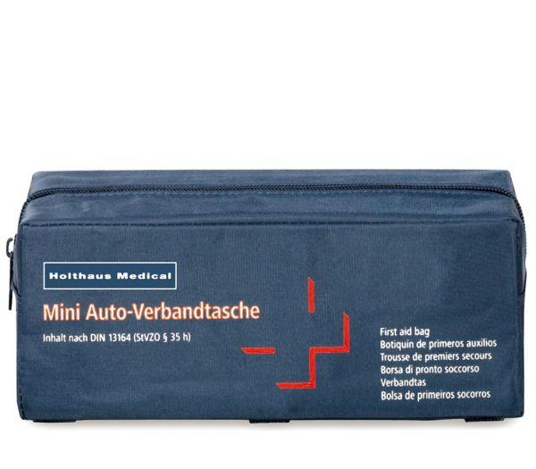 Mini-Tasche mit KFZ-Verbandsmaterial marine