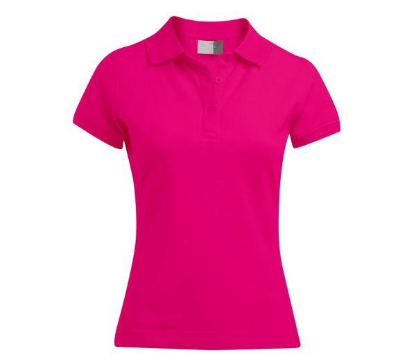 Damen Polo-Shirt STRETCH rosa