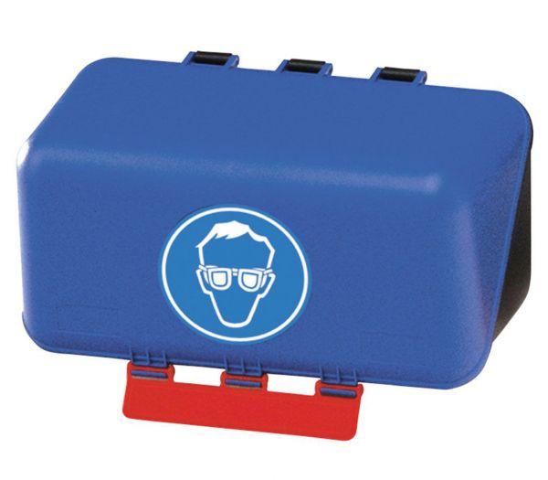 SecuBox - Aufbewahrung für Augenschutz blau