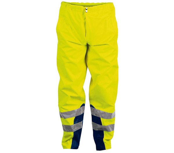 Warnschutz-Regenhose Image warngelb/marine