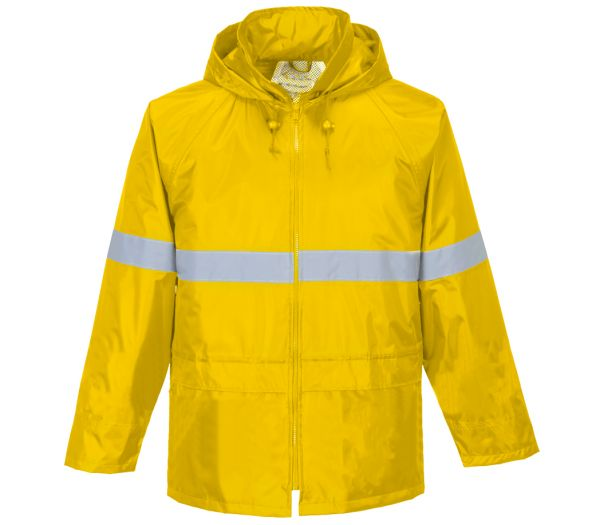 Regenjacke Reflex gelb
