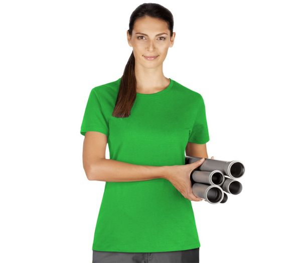 Damen T-Shirt Premium hellgrün