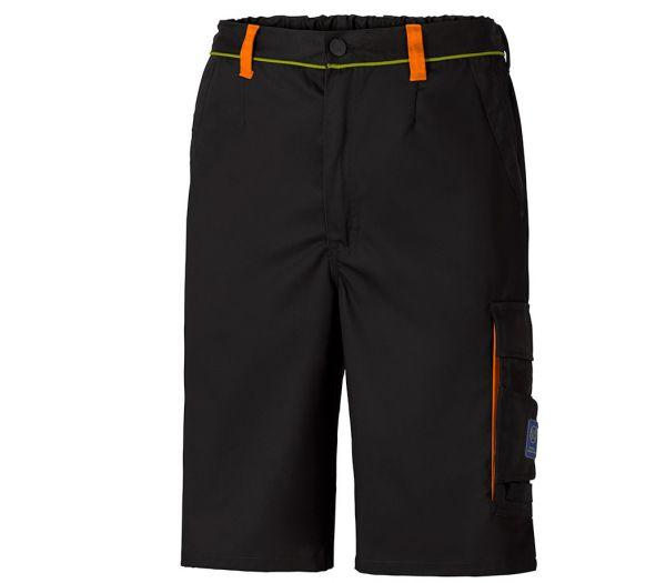 Arbeitsshorts Image schwarz/orange/gelb