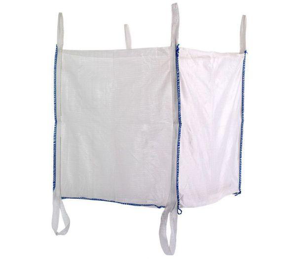 Big-Bag Schüttgutbehälter offen, 1000kg weiß