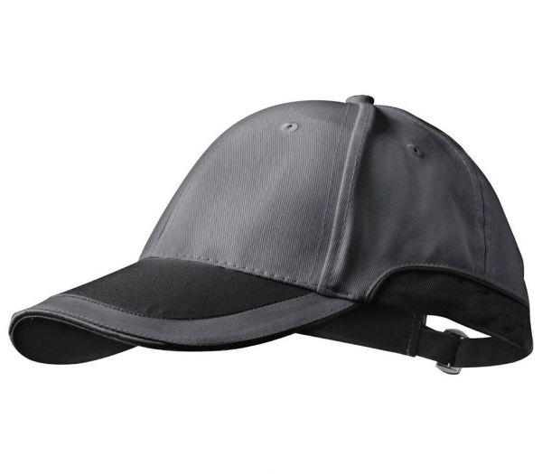 Anstoßkappe schwarz/grau