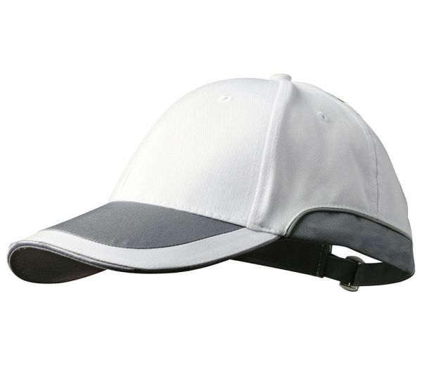 Cap weiß/anthrazit