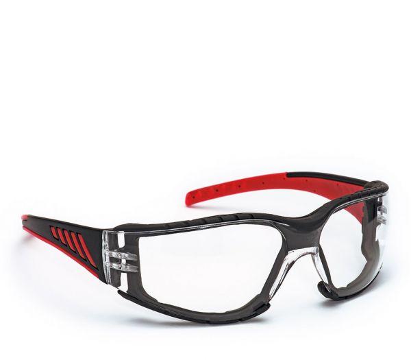 Multifunktions-Schutzbrille 2-in-1 klar