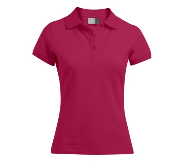 Damen Polo-Shirt STRETCH bordeaux