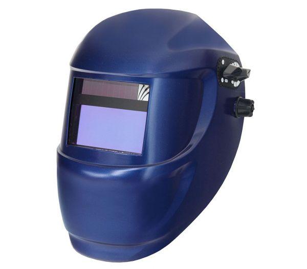 Schweißer-Automatikhelm blau