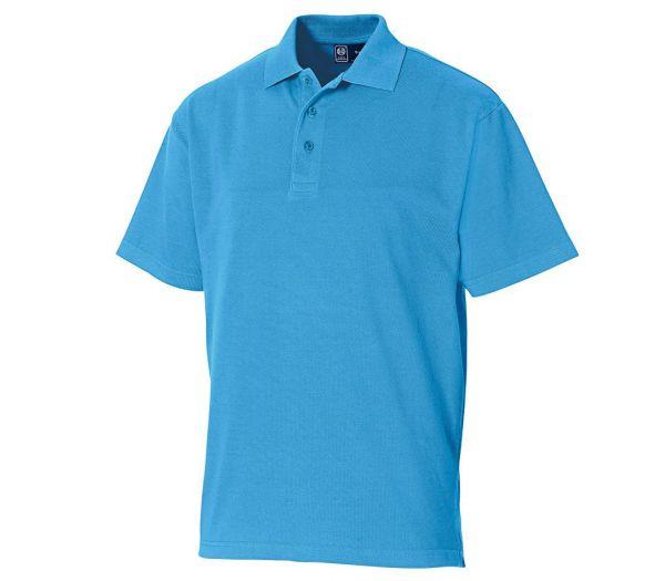 Poloshirt Premium azurblau