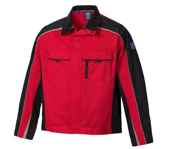 Arbeitsjacke BS ONE rot/schwarz