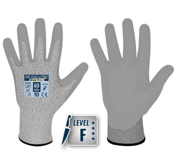 Schnittschutzhandschuhe PU Level 4F