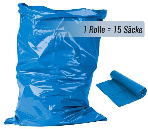 Müllsäcke, 120L blau
