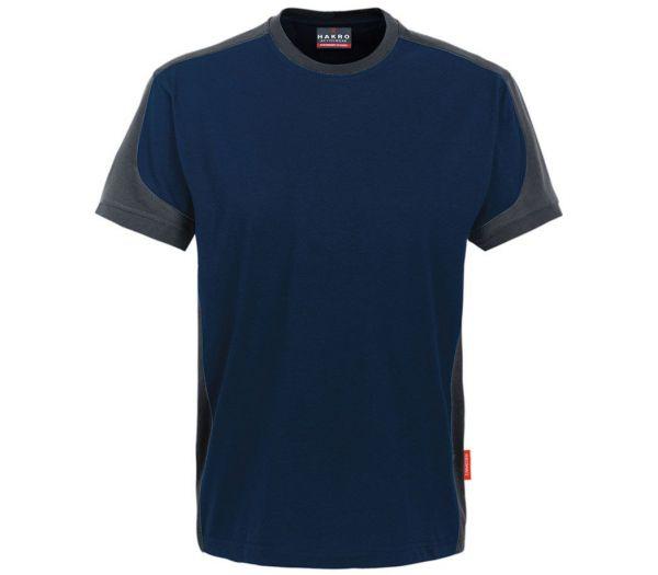 Hakro T-Shirt Performance Contrast marine/anthrazit