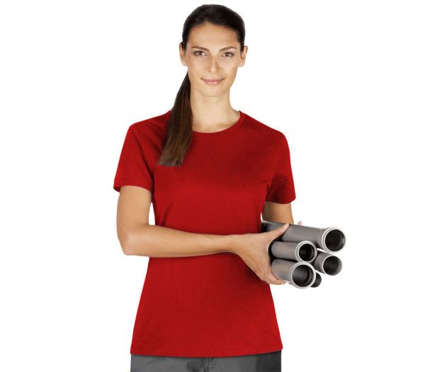Damen T-Shirt Premium cherry