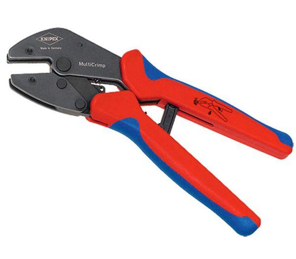 Knipex Multi-Crimpzange mit 3er Wechselmagazin