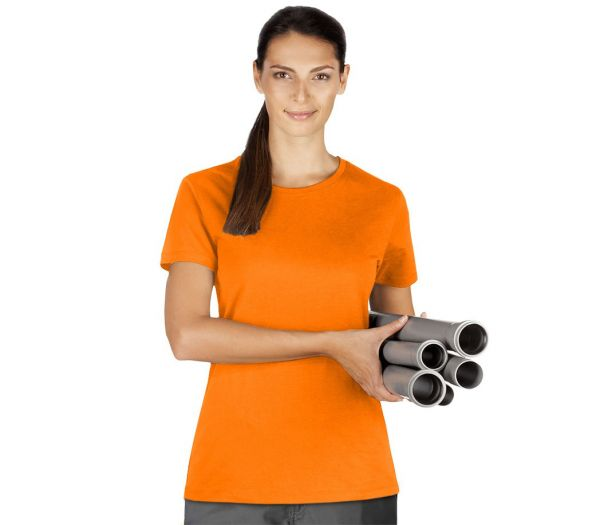 Damen T-Shirt Premium orange