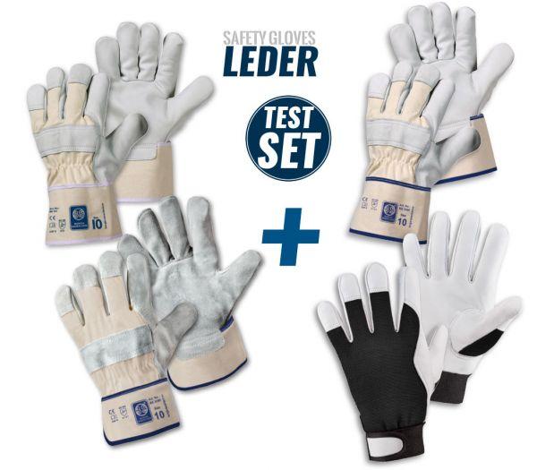 """Handschuh TEST-SET """"Leder"""" Diverse"""