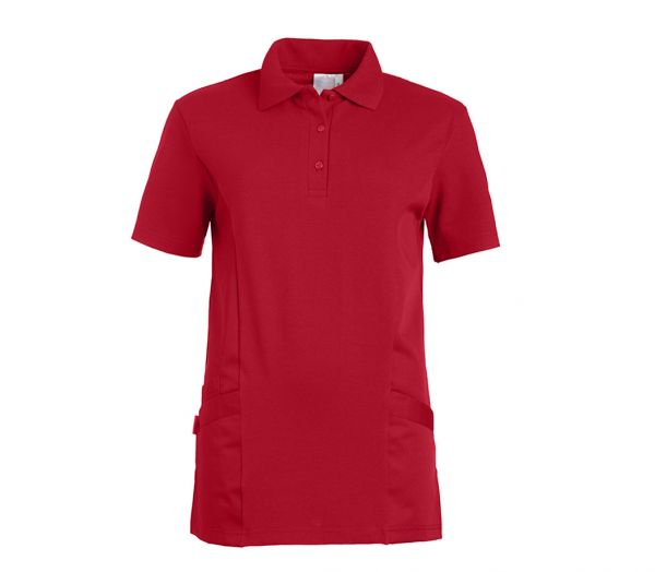 Polo-Schlupfkasack für Sie & Ihn Mischgewebe rot