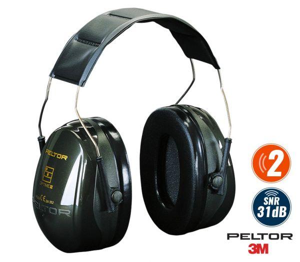 3M Peltor Kapselgehörschutz Optime II grün