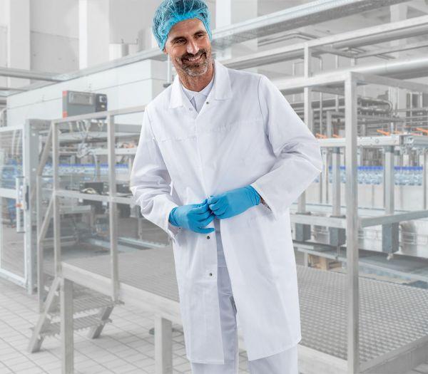 HACCP Arbeitskittel unisex weiß