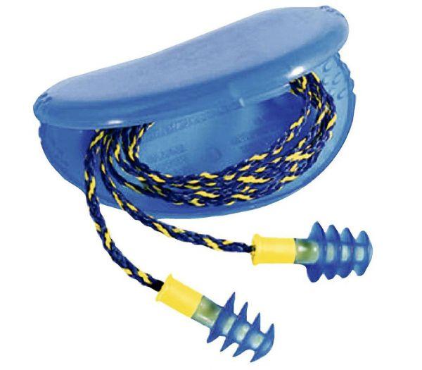 Gehörschutzstöpsel Fusion blau