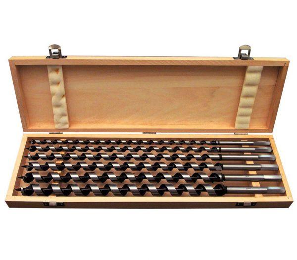 Schlangenbohrer-Set 450 mm, 6-teilig