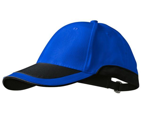 Cap kornblau/schwarz