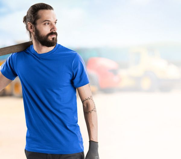 T-Shirt Premium kornblau