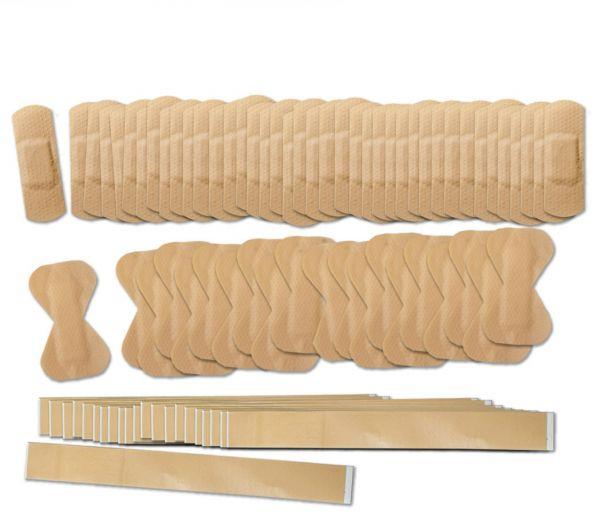 Pflaster-Set elastisch, 160-teilig